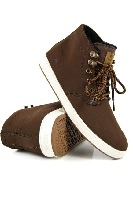 Buty Emerica  - The Romero Laced High Brown