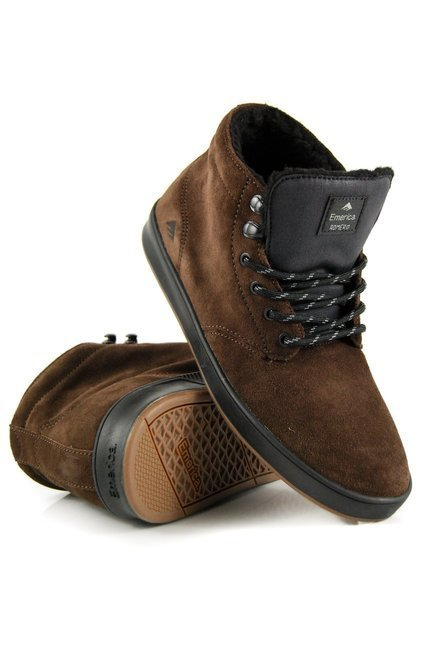 Buty Emerica - The Romero Laced High brown/black