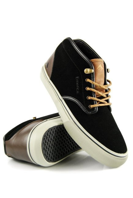 Buty Emerica  - Wino G6 Mid black/brown/grey