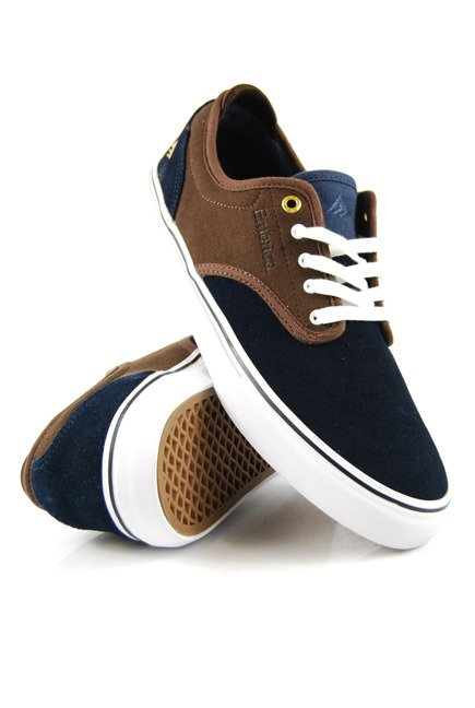 Buty Emerica  - Wino G6 Navy/Brown/White