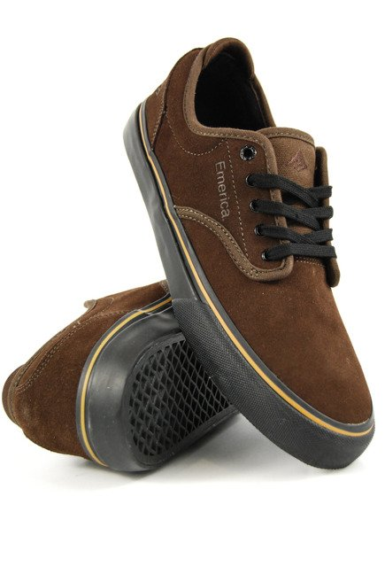 Buty Emerica  - Wino G6 brown/black/tan