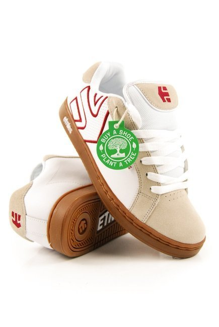 Buty Etnies - Fader white/tan