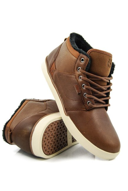 Buty Etnies - Jefferson Mid Brown/Tan