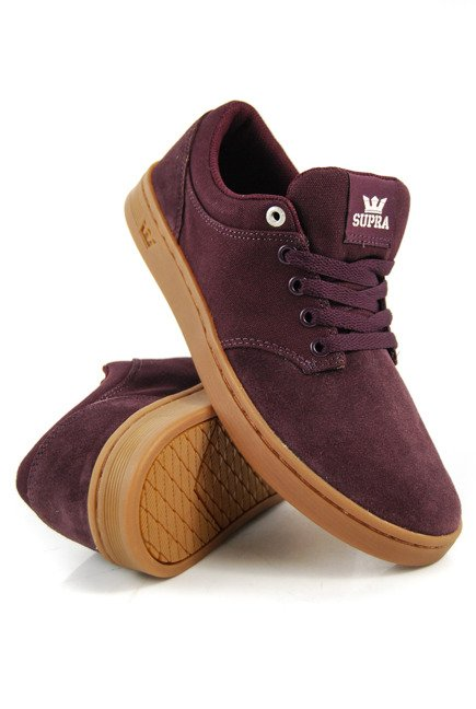 Buty Supra - Chino Court Wine-Gum