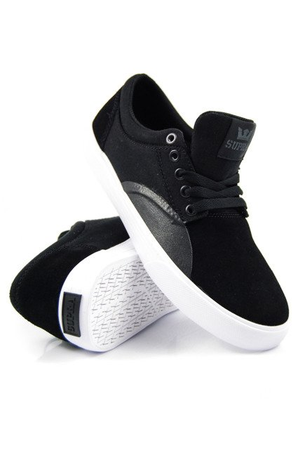 Buty Supra - Chino black/black white