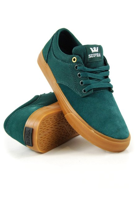 Buty Supra - Chino evergreen gum