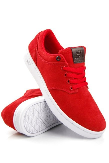 Buty Supra - Chino red/white