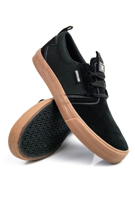 Buty Supra - Flow black gum
