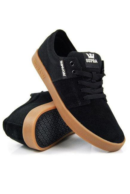 Buty Supra - Stacks II black/gum