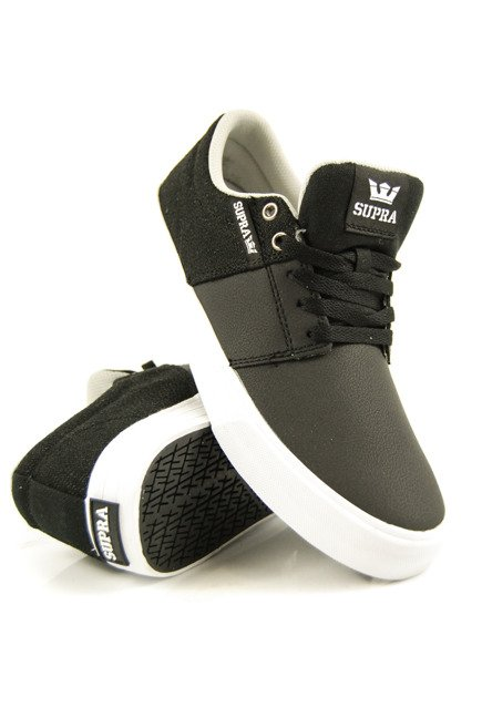 Buty Supra - Stacks Vulc II Black/Cool Grey/White