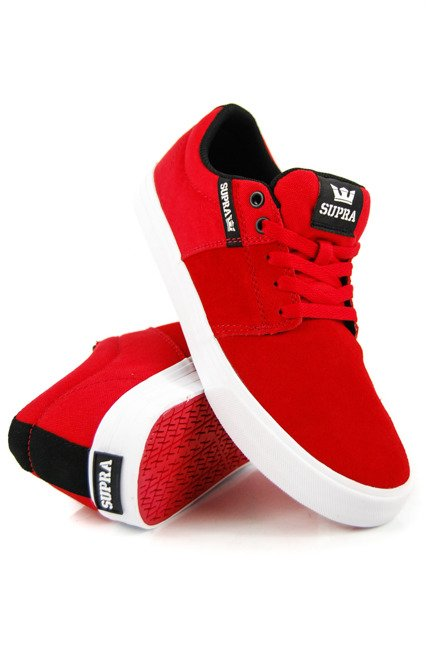 Buty Supra - Stacks Vulc II Risk Red-White