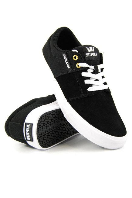 Buty Supra - Stacks Vulc II black/black white