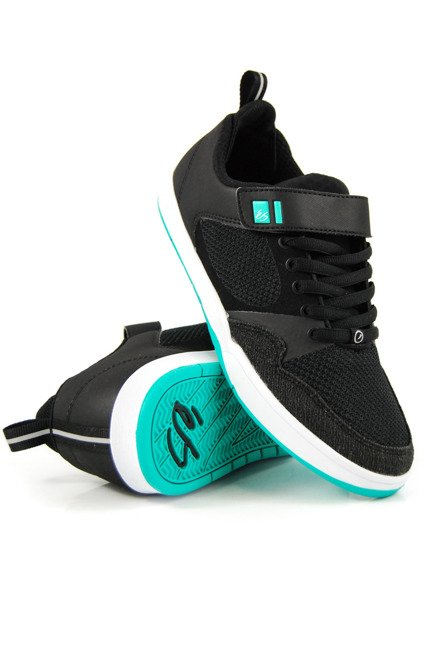 Buty éS  - Accel Plus Ever Stitch black/teal