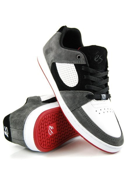 Buty éS x -  Accel slim grey/white/red