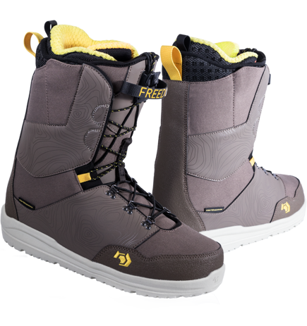Buty snowboardowe Northwave - Freedom Brown