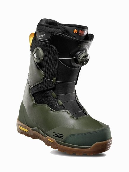 Buty snowboardowe ThirtyTwo - Focus Double Boa Olive/Black/Gum