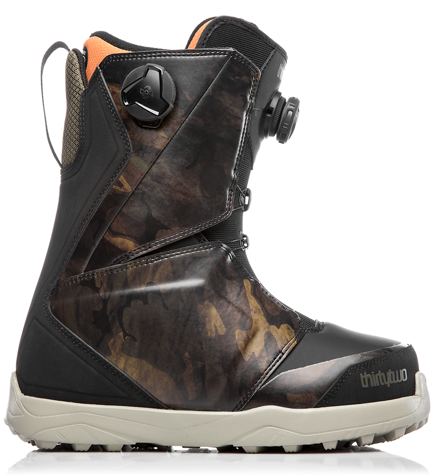 Buty snowboardowe ThirtyTwo - Lashed Double Boa Black/Camo