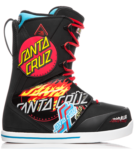 Buty snowboardowe ThirtyTwo - Santa Cruz Lashed Black/Print