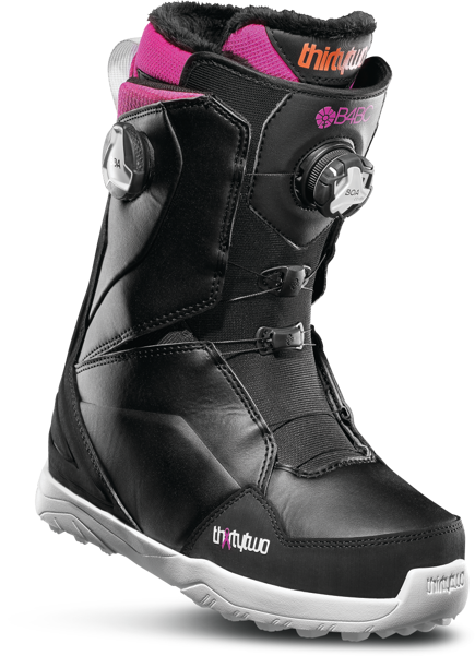 Buty snowboardowe ThirtyTwo - WMN Lashed B4BC Double Boa Black/Pink/White