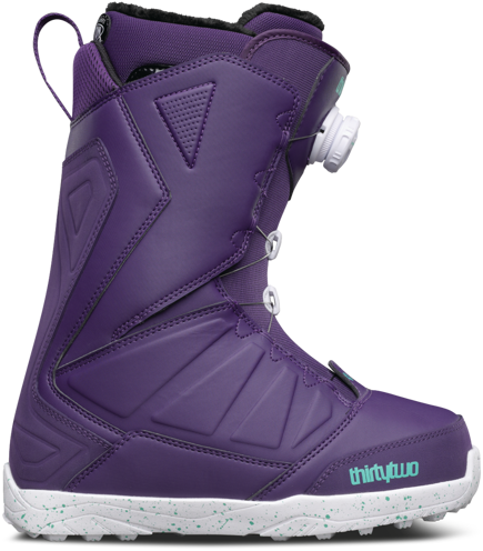 Buty snowboardowe ThirtyTwo - Wmn Lashed Boa Purple
