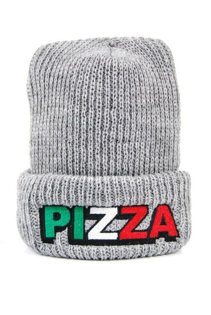 Czapka Pizza Skateboards - Tri Logo grey
