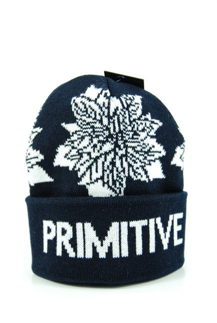 Czapka Primitive- Point Floral Beanie midnight