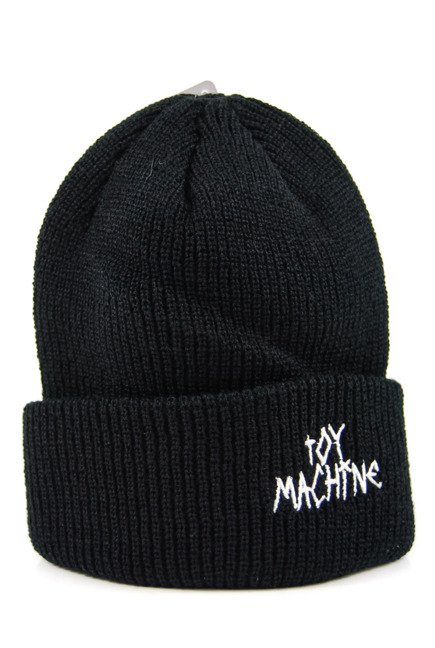 Czapka Toy Machine - Tape Logo Black