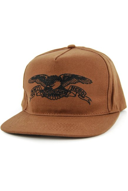 Czapka z daszkiem Antihero - Basic Eagle brown