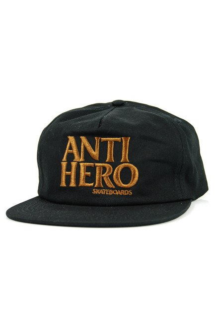 Czapka z daszkiem Antihero - Black Hero Embroidered black/brown