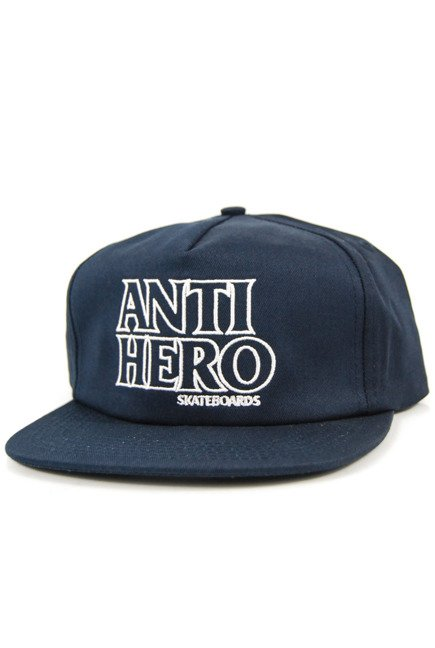 Czapka z daszkiem Antihero - Black Hero Out Snapbak Navy