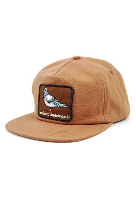 Czapka z daszkiem Antihero - Pigeon Patch Snapback Brown