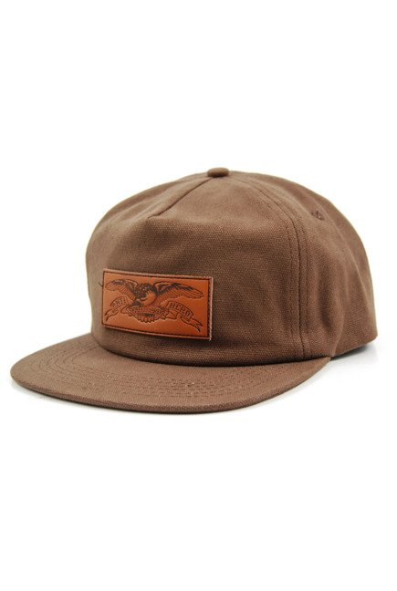 Czapka z daszkiem Antihero - Standard Issue Eagle Snapback Brown