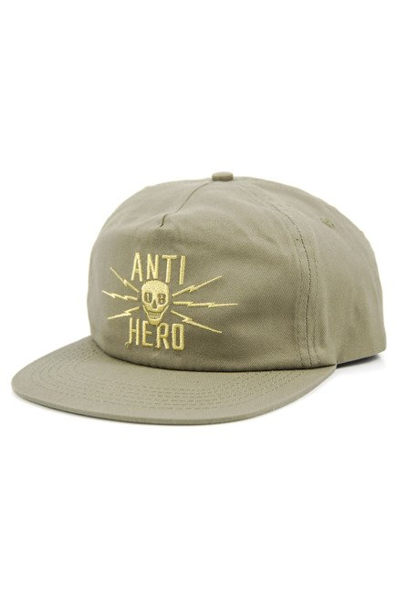 Czapka z daszkiem Antihero - Stay Away Snapback Aloe Green