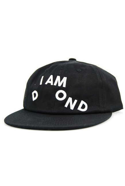 Czapka z daszkiem Diamond Supply Co. - I Am Snapback black