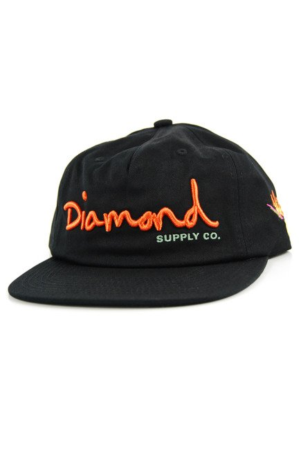 Czapka z daszkiem Diamond Supply Co. - OG Script black
