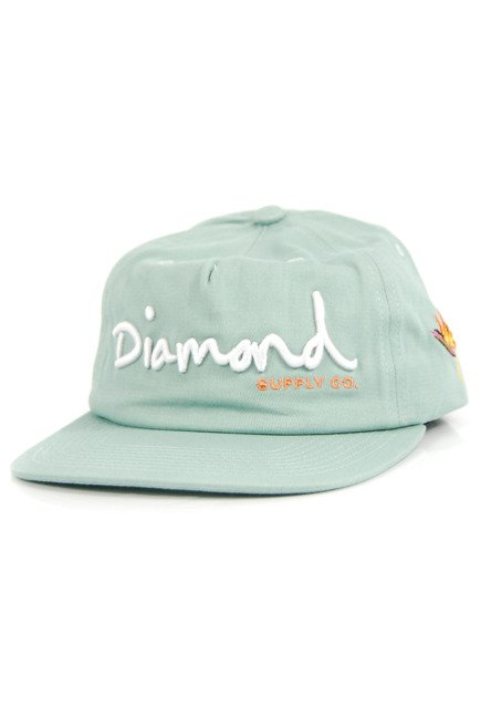 Czapka z daszkiem Diamond Supply Co. - OG Script dblue
