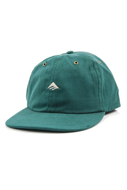 Czapka z daszkiem Emerica - Try Strapback Hunter Green