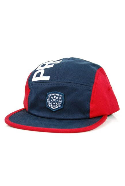 Czapka z daszkiem Primitive - Camp Snapback Navy/red