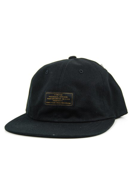 Czapka z daszkiem ThirtyTwo - 5 panel brakedown black
