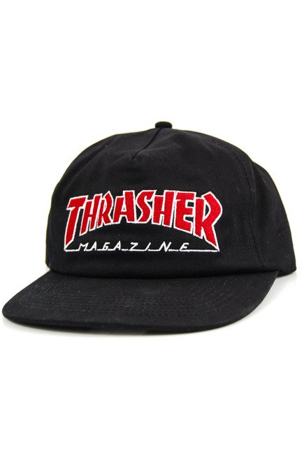 Czapka z daszkiem Thrasher - Outlined Snapback black
