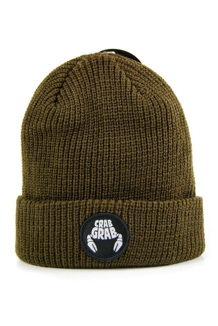 Czapka zimowa Crab Grab - Circle Path Beanie Brown