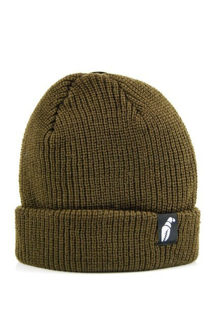 Czapka zimowa Crab Grab - Claw Label Beanie Brown