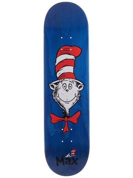 Deck Almost -  Geronzi Cat Face Dr. Seuss Blue
