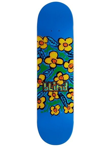 Deck Blind - Flowers Hyb Blue