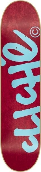 Deck Cliche - Handwritten Red / blue