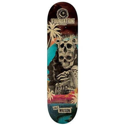 Deck Foundation -  Nuclear Skateboard Deck