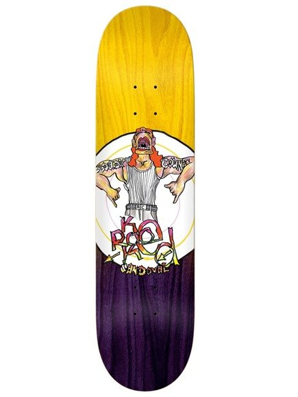 Deck Krooked - Sandoval Boady Count Yellow