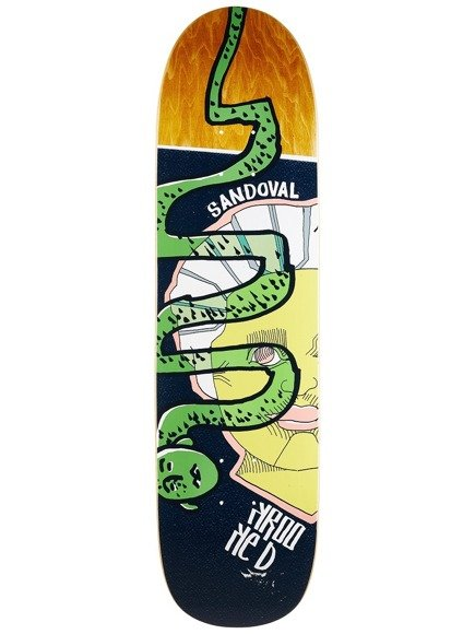 Deck Krooked - Sandoval Snake Head