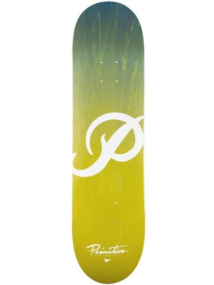 Deck Primitive - Classic P Gradient Blue Yellow
