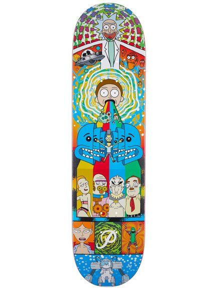 Deck Primitive x Rick & Morty - Collage